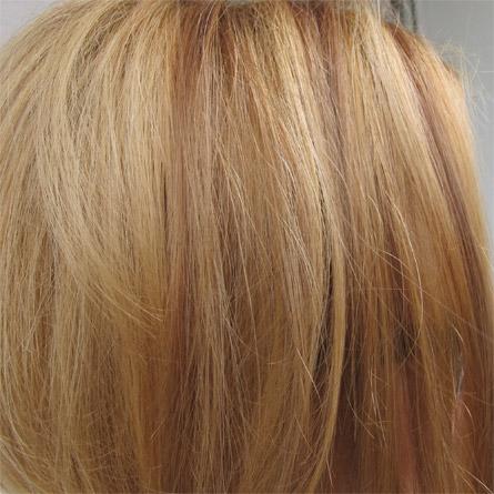 Strahnen Mittelaschblonde Halblange Frisur Na06 S12 Oliebe